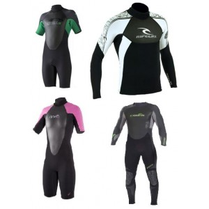 Mens & Ladies Wetsuit/Rash Shirts Hire